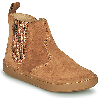 Chaussures Fille Boots Shoo Pom PLAY SHINE ELAST Marron
