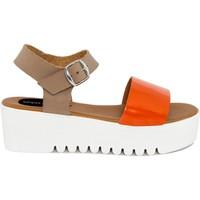 Chaussures Femme Sandales et Nu-pieds Fashion Attitude  Arancio