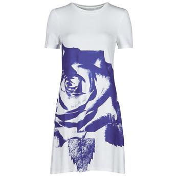 Vêtements Femme Robes courtes Desigual WASHINTONG Blanc / Bleu