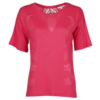 Vêtements Femme T-shirts manches courtes Desigual CLEMENTINE Rouge