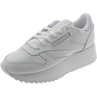 Chaussures Fille Baskets basses Reebok Sport CLASSIC LEATHER DOUBLE BIANCHE Blanc