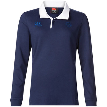 Vêtements Femme Polos manches longues Canterbury E64CJ01 Bleu