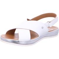 Chaussures Femme Sandales et Nu-pieds Ara Sandale Cuir Dubai Blanc
