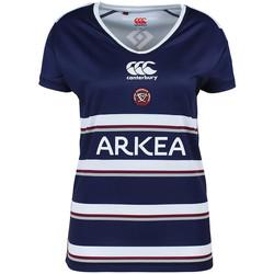 Vêtements Femme T-shirts manches courtes Canterbury E64RE01 Bleu