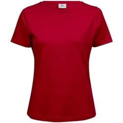 Vêtements Femme T-shirts manches courtes Tee Jays T580 Rouge