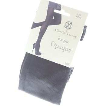 Sous-vêtements Femme Collants & bas Christian Lacroix Collant chaud - Opaque Noir