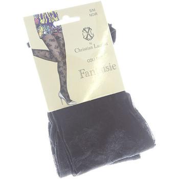 Sous-vêtements Femme Collants & bas Christian Lacroix Collant fin - Transparent Noir