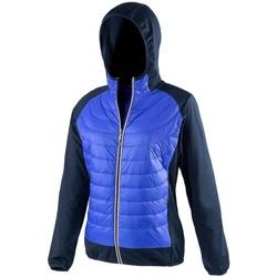 Vêtements Femme Doudounes Spiro Showerproof Bleu roi / bleu marine