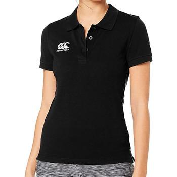 Vêtements Femme Polos manches courtes Canterbury E633803 Noir