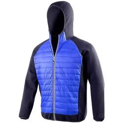 Vêtements Homme Doudounes Spiro  Bleu roi / bleu marine