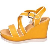 Chaussures Femme Sandales et Nu-pieds Enrico Coveri BH347 Jaune