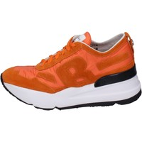 Chaussures Femme Baskets basses Rucoline Sneakers Daim Orange