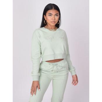Vêtements Femme Sweats Project X Paris Sweat-Shirt Vert d'eau