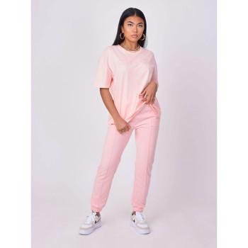 Vêtements Femme T-shirts manches courtes Project X Paris Tee Shirt Rose