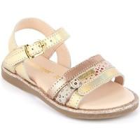 Chaussures Fille Sandales et Nu-pieds Les Tropéziennes par M Belarbi Iria Or Rose