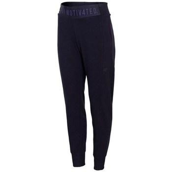 Vêtements Femme Pantalons de survêtement 4F SPDD013 Bleu marine