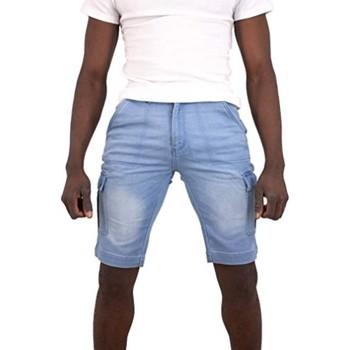 Vêtements Homme Shorts / Bermudas Torrente Luca Bleu Clair