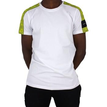 Vêtements Homme T-shirts manches courtes Cerruti 1881 Padva Blanc