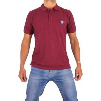 Vêtements Homme Polos manches courtes Cxl By Christian Lacroix Ange Bordeaux