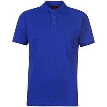 Vêtements Homme Polos manches courtes Pierre Cardin Eleo Bleu Roi
