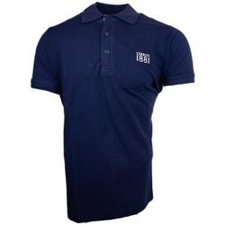 Vêtements Homme Polos manches courtes Cerruti 1881 Genova Bleu Marine