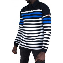 Vêtements Homme Polos manches longues Cerruti 1881 Campania Bleu Marine