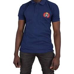 Vêtements Homme Polos manches courtes Cxl By Christian Lacroix Ary Bleu Marine
