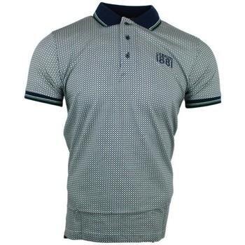 Vêtements Homme Polos manches courtes Cerruti 1881 Aop Vert