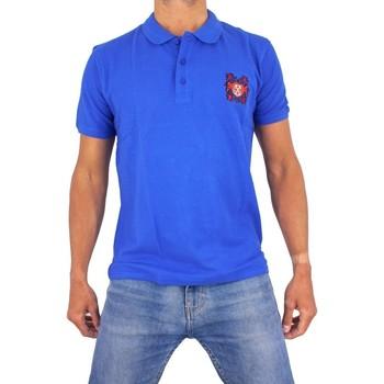 Vêtements Homme Polos manches courtes Cxl By Christian Lacroix Ange Bleu Roi