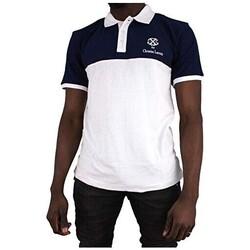 Vêtements Homme Polos manches courtes Cxl By Christian Lacroix Sommerville Bleu Marine