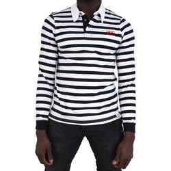 Vêtements Homme Polos manches longues Cerruti 1881 Calabria Blanc