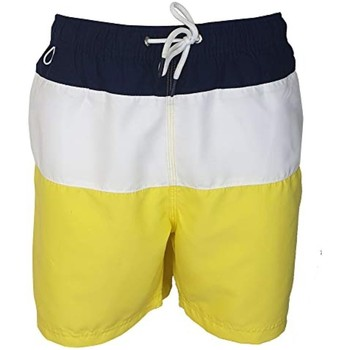 Vêtements Homme Maillots / Shorts de bain Pierre Cardin Mariano Bleu Marine, Blanc, Jaune