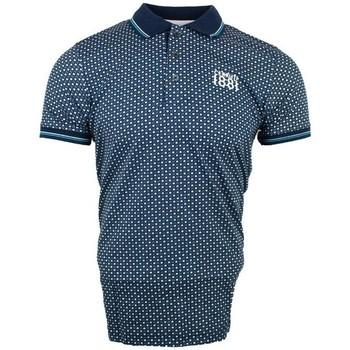 Vêtements Homme Polos manches courtes Cerruti 1881 Aop Bleu Azur