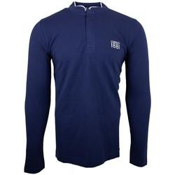 Vêtements Homme Polos manches longues Cerruti 1881 Firenza Bleu Marine