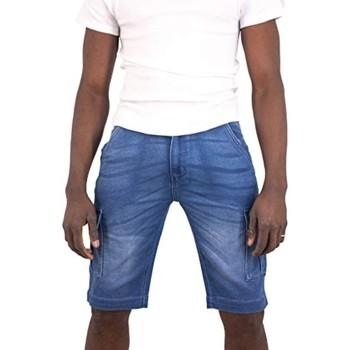 Vêtements Homme Shorts / Bermudas Torrente Luca Bleu Indigo