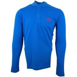 Vêtements Homme Polos manches longues Cerruti 1881 Genova Bleu Roi