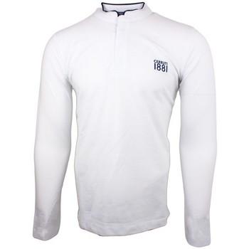 Vêtements Homme Polos manches longues Cerruti 1881 Firenza Blanc