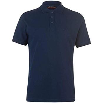 Vêtements Homme Polos manches courtes Pierre Cardin Eleo Bleu Marine