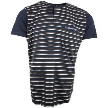 Vêtements Homme Pyjamas / Chemises de nuit Cerruti 1881 Pyjashort Bleu Marine