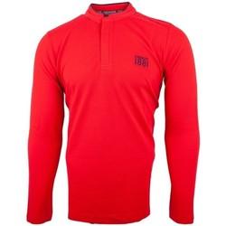 Vêtements Homme Polos manches longues Cerruti 1881 Firenza Rouge