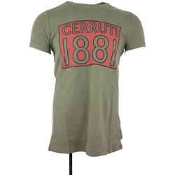 Vêtements Homme T-shirts manches courtes Cerruti 1881 Perugia Kaki