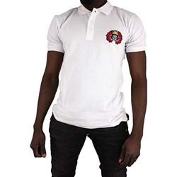 Vêtements Homme Polos manches courtes Cxl By Christian Lacroix Ary Blanc