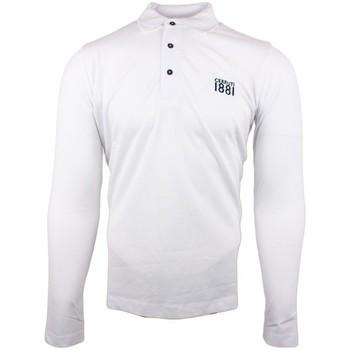 Vêtements Homme Polos manches longues Cerruti 1881 Genova Blanc