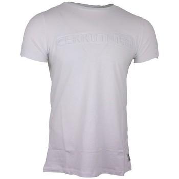 Vêtements Homme T-shirts manches courtes Cerruti 1881 Pachino Blanc