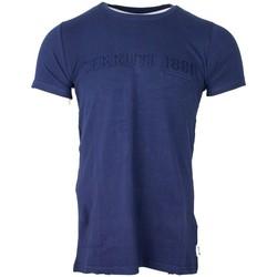 Vêtements Homme T-shirts manches courtes Cerruti 1881 Pachino Bleu Marine