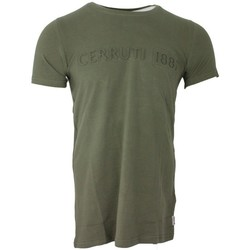 Vêtements Homme T-shirts manches courtes Cerruti 1881 Pachino Kaki