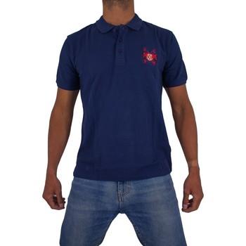 Vêtements Homme Polos manches courtes Cxl By Christian Lacroix Ange Bleu Marine