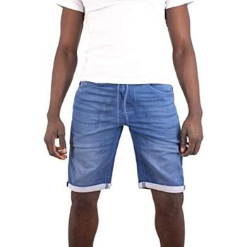 Vêtements Homme Shorts / Bermudas Torrente Rezzo Bleu Indigo