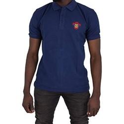 Vêtements Homme Polos manches courtes Cxl By Christian Lacroix Peter Bleu Marine