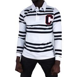 Vêtements Homme Polos manches longues Cerruti 1881 Cortina Blanc